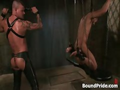 Derrick And Leo In Horny Extreme Gay Bondage Fetish Video 8 By BoundPride