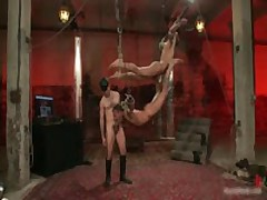 Alessio And Leo In Horny Extreme Gay Bondage S&M Fetish Movie 14 By BoundPride