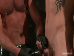 Leo And Trent In Very Extreme Gay Porn Bondage 2 By BoundPride