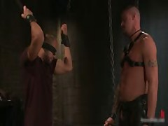 Derrick And Leo In Horny Extreme Gay Bondage Fetish Video 1 By BoundPride