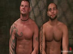 Derrick And Leo In Horny Extreme Gay Bondage Fetish Video 11 By BoundPride