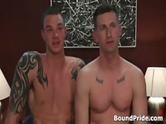 Cliff And Troy In Horny Extreme Gay Bondage Fetish Movie 14 By BoundPride