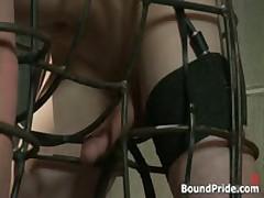 Josh And CJ In Horny Extreme Gay Bondage S&M Fetish Movie 4 By BoundPride