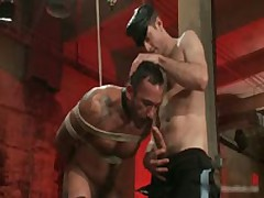 Alessio And Leo In Horny Extreme Gay Bondage S&M Fetish Movie 10 By BoundPride