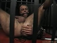 Extreme Gay BDSM In Euro Slave Dungeon