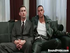 Cliff And Troy In Horny Extreme Gay Bondage Fetish Movie 1 By BoundPride