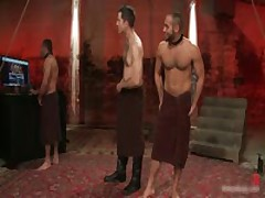 Alessio And Leo In Horny Extreme Gay Bondage S&M Fetish Movie 19 By BoundPride