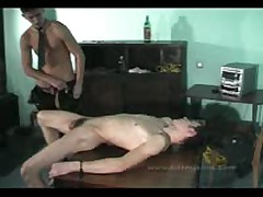 Master Cumshots On Slave Body