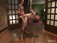 Cliff And Troy In Horny Extreme Gay Bondage Fetish Movie 8 By BoundPride