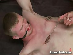 Nick And Blake In Horny Extreme Gay Bondage S&M Fetish Movie 9 By BoundPride