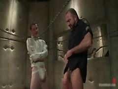 Josh And CJ In Horny Extreme Gay Bondage S&M Fetish Movie 3 By BoundPride