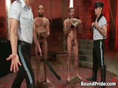 Alessio And Leo In Horny Extreme Gay Bondage S&M Fetish Movie 5 By BoundPride