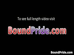 Cliff And Troy In Horny Extreme Gay Bondage Fetish Movie 5 By BoundPride