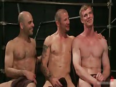 Brenn, Adam And Blake In Horny Extreme Gay Bondage S&M Fetish Threesome 14 By BoundPride