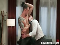 Cliff And Troy In Horny Extreme Gay Bondage Fetish Movie 3 By BoundPride