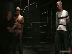 Brenn, Adam And Blake In Horny Extreme Gay Bondage S&M Fetish Threesome 3 By BoundPride
