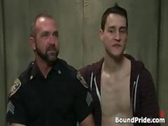 Josh And CJ In Horny Extreme Gay Bondage S&M Fetish Movie 1 By BoundPride