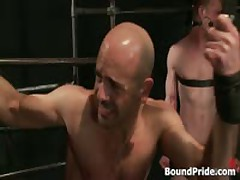 Brenn, Adam And Blake In Horny Extreme Gay Bondage S&M Fetish Threesome 7 By BoundPride