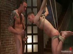 Cliff And Troy In Horny Extreme Gay Bondage Fetish Movie 6 By BoundPride