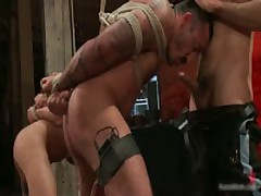 Alessio And Leo In Horny Extreme Gay Bondage S&M Fetish Movie 9 By BoundPride