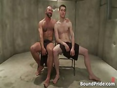 Josh And CJ In Horny Extreme Gay Bondage S&M Fetish Movie 8 By BoundPride