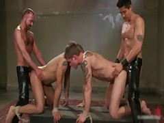 Leo And Trent In Very Extreme Gay Porn Bondage 12 By BoundPride