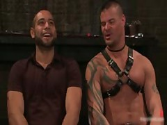 Derrick And Leo In Horny Extreme Gay Bondage Fetish Video 10 By BoundPride