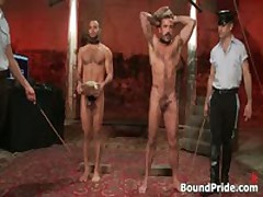 Alessio And Leo In Horny Extreme Gay Bondage S&M Fetish Movie 6 By BoundPride