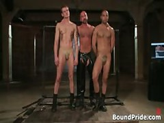 Leo And Trent In Very Extreme Gay Porn Bondage 1 By BoundPride