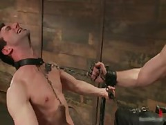 Jason Dirk In Very Extreme Gay Bondage Action 7 By BoundPride