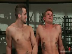 Phenix And Trent In Very Extreme Gay Porn Bondage 14 By BoundPride