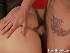Phenix And Trent In Very Extreme Gay Porn Bondage 10 By BoundPride
