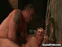 Spencer Philip In Very Extreme Gay Bondage Action 11 By BoundPride