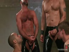 Leo And Trent In Very Extreme Gay Porn Bondage 14 By BoundPride