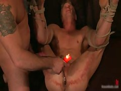 Spencer Philip In Very Extreme Gay Bondage Action 10 By BoundPride