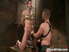 Jason Dirk In Very Extreme Gay Bondage Action 2 By BoundPride