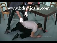 Master In Uniform Humiliate Their Dirty Slave