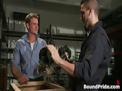 Phenix And Trent In Very Extreme Gay Porn Bondage 2 By BoundPride