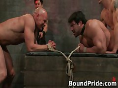 Brenn And Chad In Extreme Gay Bondage And Torture 41 By BoundPride