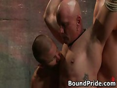 Brenn And Chad In Extreme Gay Bondage And Torture 35 By BoundPride