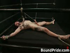 Extreme Gay Torture Gay Bondage Action 14 By BoundPride