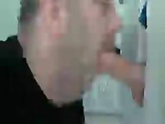 BEAR SUCKING TWINK COCK AT GLORYHOLE