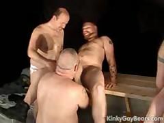 Hulking Bears Fuck Tight Ass