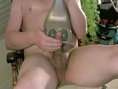 Bisex Bear Cumming With Favorite Toy