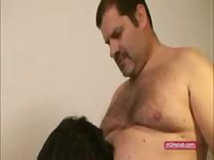 2 Big Bears Fucking A Twink
