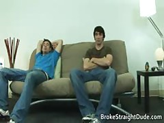 Queer Movie Of Braden And Jeremy Having Intercourse On A Lounge 1 By BrokeStraightDude