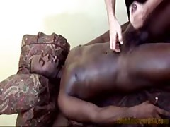 Black Stud Blows His Load
