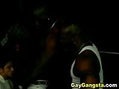 Dark Gay Men Wild Doggie Style