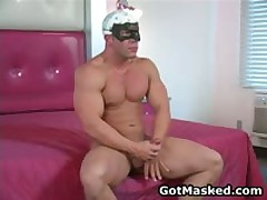 Exciting Homosexual Hunk Undressing And Busts His Nuts 35 By GotMasked