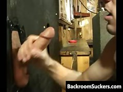 Blow Job Through The Glory Hole 2 By BackRoomSuckers